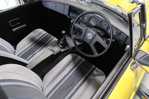 1992 MG MGB 1.8 Roadtser 78 miles only Snapdragon Yellow SOLD (picture 5 of 6)