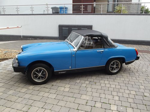 1980 MG MIDGET 1500 SPORTS (7500 MILES) SOLD (picture 1 of 6)