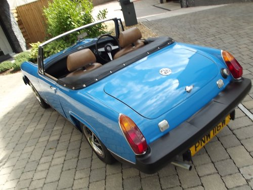 1980 MG MIDGET 1500 SPORTS (7500 MILES) SOLD (picture 2 of 6)