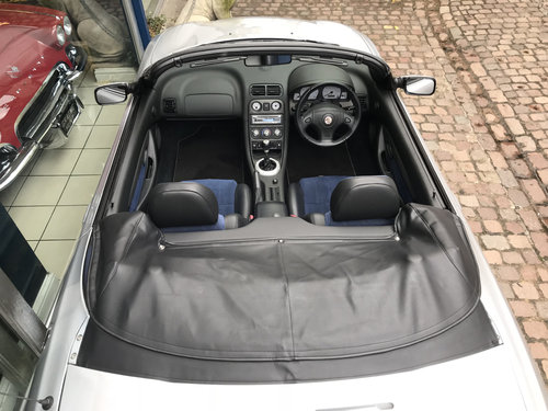 2004 MG TF Cool Blue Edition - 2 owners & 32.250 miles only SOLD (picture 4 of 6)
