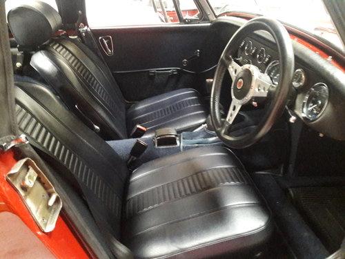 1973MG Midget for sale. Superb Heritage shell restoration! For Sale (picture 5 of 6)