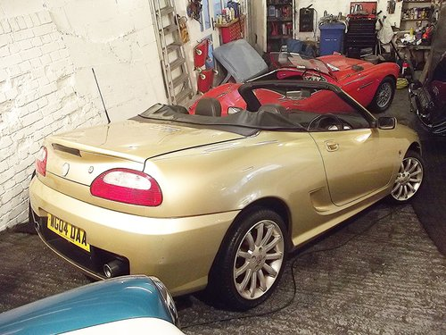 2004  MG TF 1.8 VVC GOLD EDT SPORTSCAR (41,000 MILES) SOLD (picture 3 of 6)