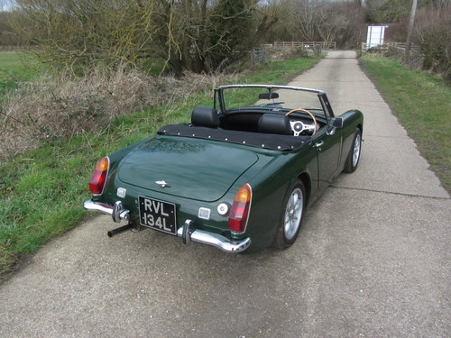 1972 MG Midget 1380cc 5 speed Heritage shell For Sale SOLD (picture 3 of 6)