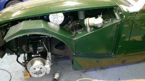 1972 MG Midget 1380cc 5 speed Heritage shell For Sale SOLD (picture 4 of 6)