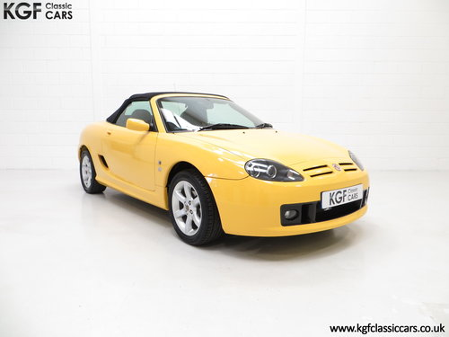 2002 An Exceptional Trophy Yellow MG TF 135, Just 20,339 Miles SOLD (picture 1 of 6)