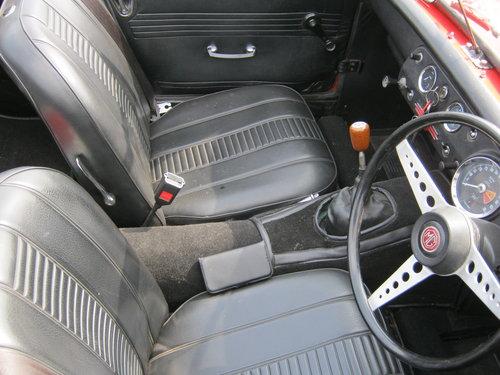 1970 MG MIDGET Mk3 1275CC. CHROME BUMPER. SOLD (picture 5 of 6)