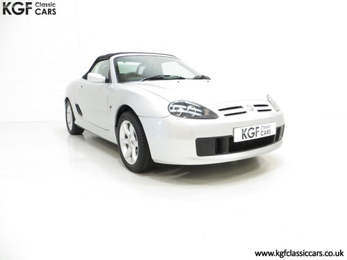 2004 An Exceptional MG TF 135 with Just 23,823 Miles SOLD (picture 1 of 6)