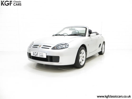 2004 An Exceptional MG TF 135 with Just 23,823 Miles SOLD (picture 2 of 6)