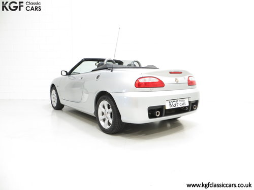 2004 An Exceptional MG TF 135 with Just 23,823 Miles SOLD (picture 4 of 6)