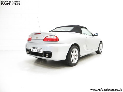 2004 An Exceptional MG TF 135 with Just 23,823 Miles SOLD (picture 5 of 6)