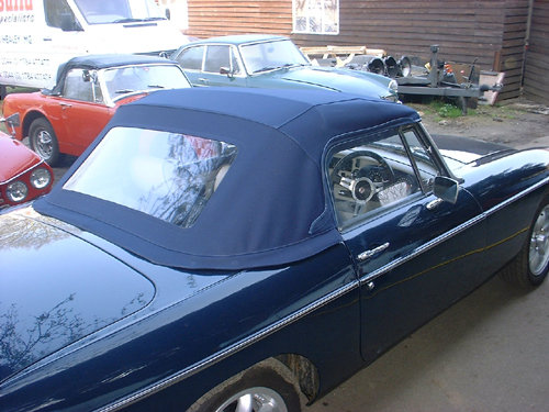 1972 MGB Roadster with Sebring valances stunning condition For Sale (picture 2 of 6)