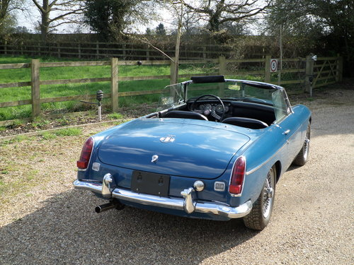 1968 Automatic MGC LHD For Sale (picture 2 of 6)