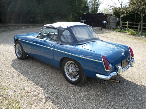 1968 Automatic MGC LHD For Sale (picture 4 of 6)