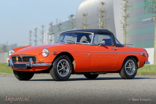 An excellent MGB roadster 1974  LHD For Sale (picture 6 of 6)