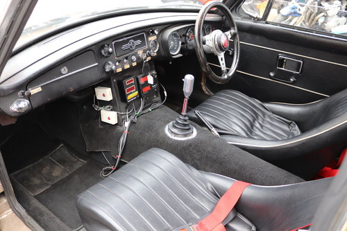 1968 MGC GT, fully rebuilt and HCRC eligible ,Power steering SOLD (picture 4 of 6)