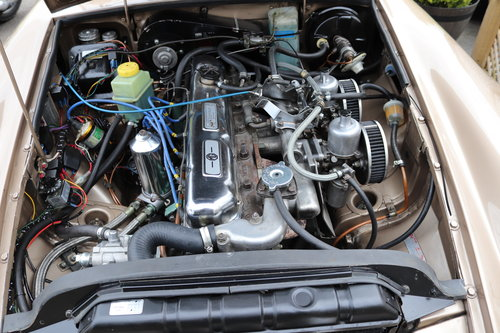 1968 MGC GT, fully rebuilt and HCRC eligible ,Power steering SOLD (picture 5 of 6)