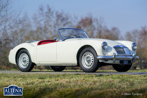MG A Twin Cam Roadster, 1958 SOLD (picture 1 of 6)