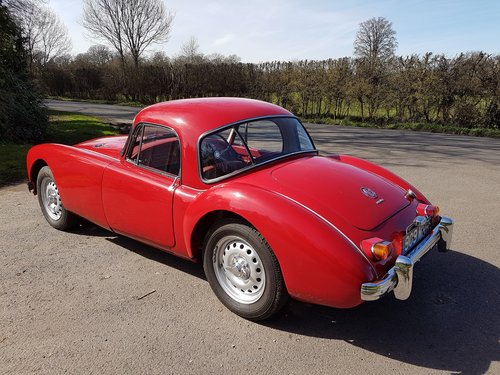 1962 MGA MK2 Coupe Deluxe 1622cc Super Rare & Immaculate SOLD (picture 3 of 6)