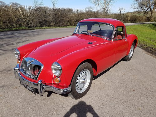 1962 MGA MK2 Coupe Deluxe 1622cc Super Rare & Immaculate SOLD (picture 4 of 6)