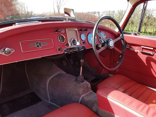 1962 MGA MK2 Coupe Deluxe 1622cc Super Rare & Immaculate SOLD (picture 5 of 6)