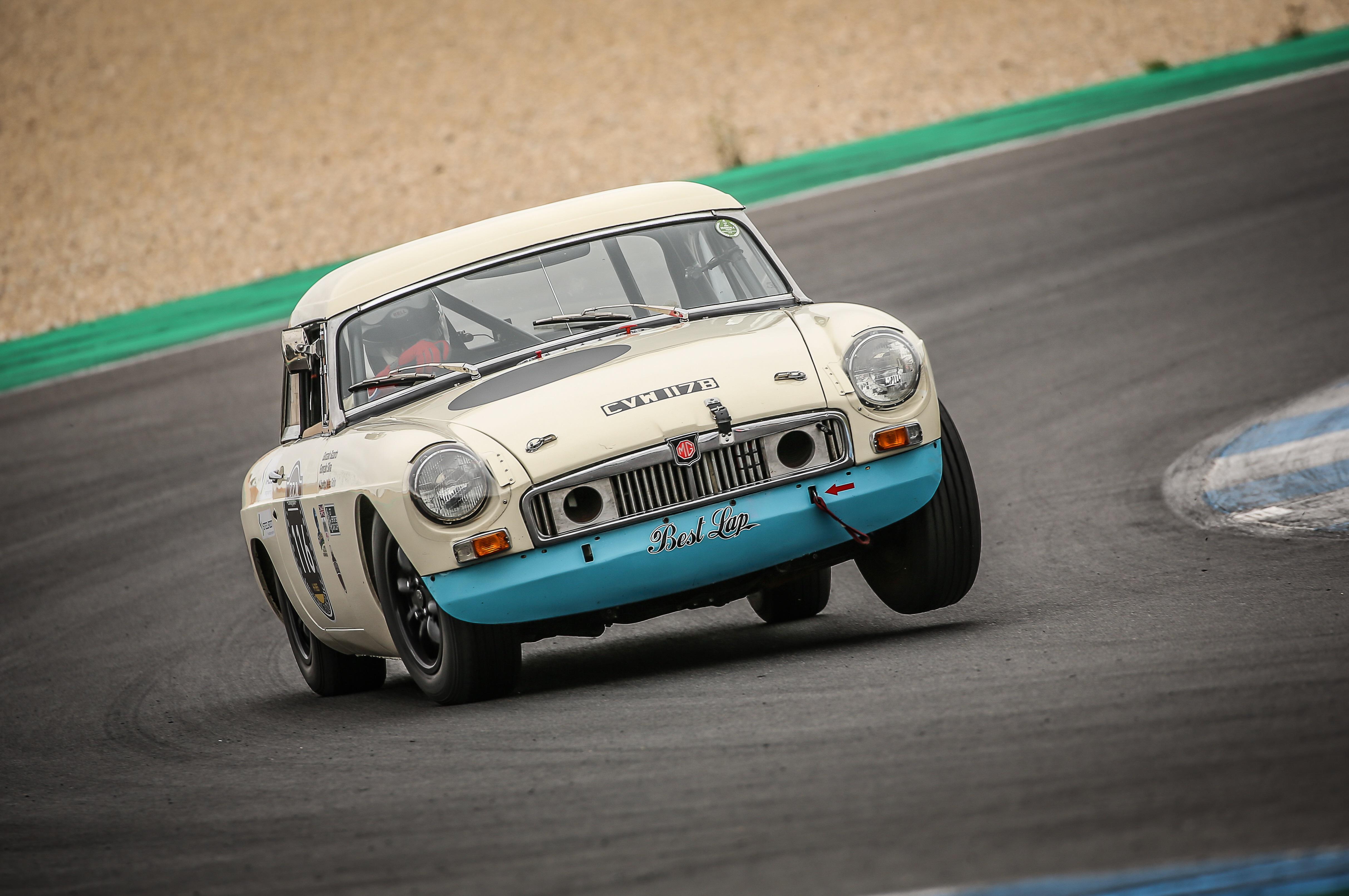MGB FiA Race Car