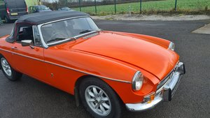 Picture of 1972 MGB Roadster in Blaze For Sale