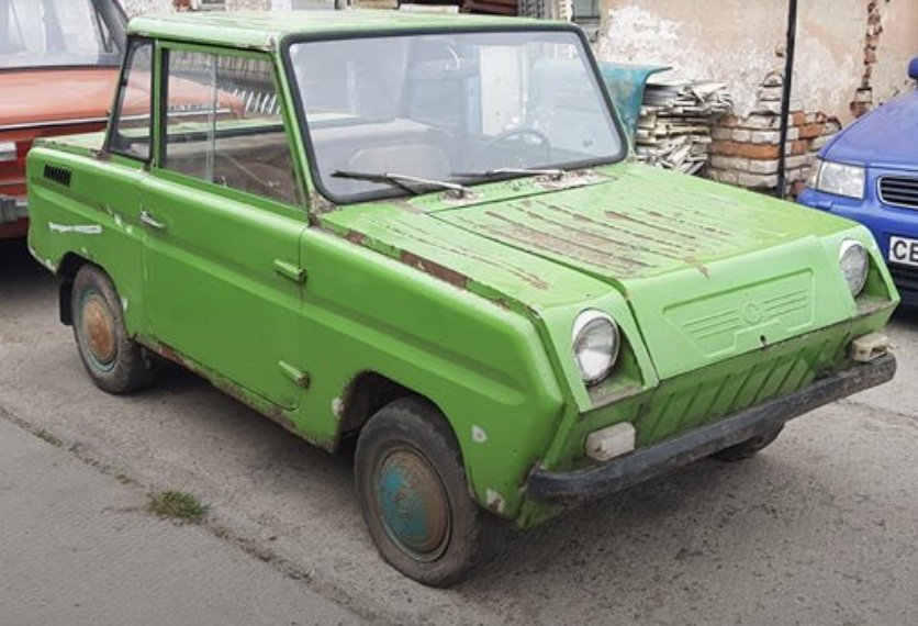 1985 Rare SMZ SZD microcar, looks great, good condition For Sale (picture 1 of 5)