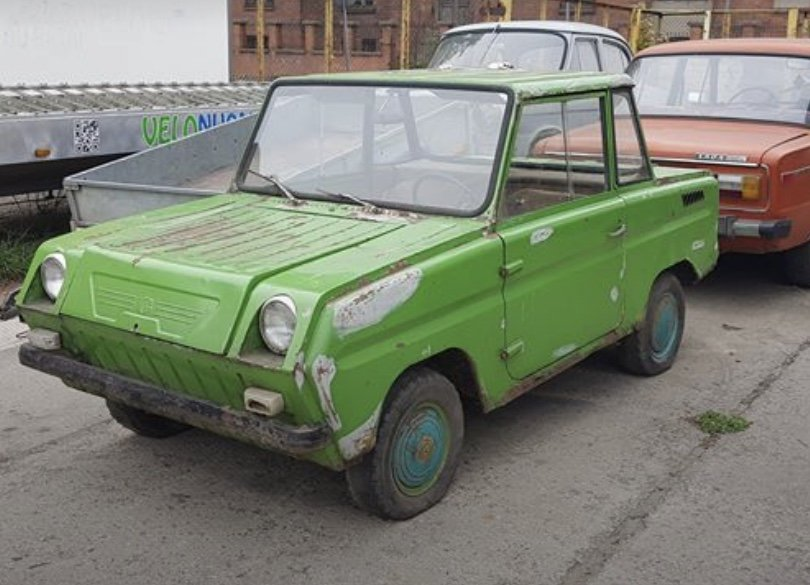 1985 Rare SMZ SZD microcar, looks great, good condition For Sale (picture 2 of 5)