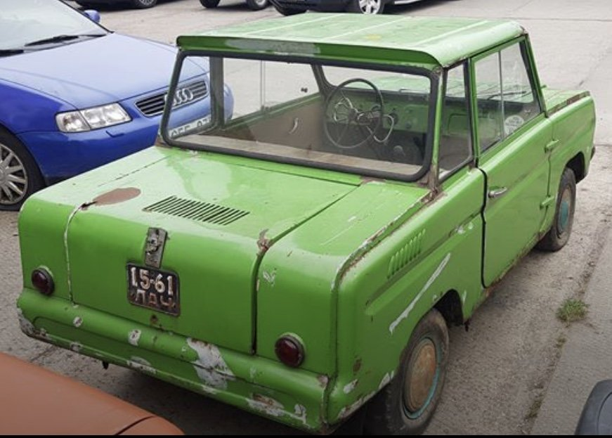 1985 Rare SMZ SZD microcar, looks great, good condition For Sale (picture 4 of 5)