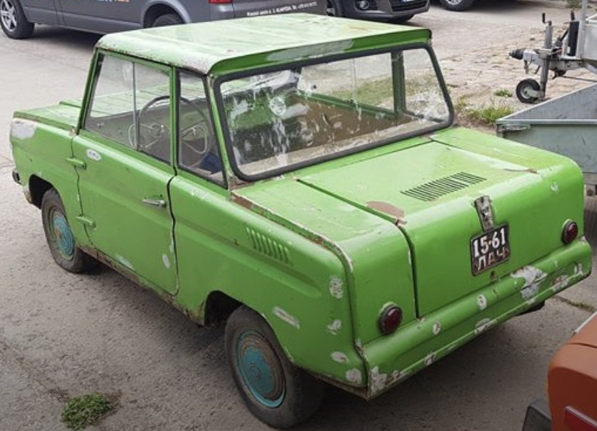 1985 Rare SMZ SZD microcar, looks great, good condition For Sale (picture 5 of 5)