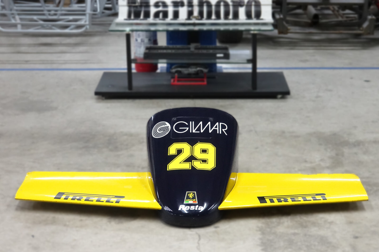 1985 Minardi M185 F1 Front Nose For Sale (picture 6 of 8)