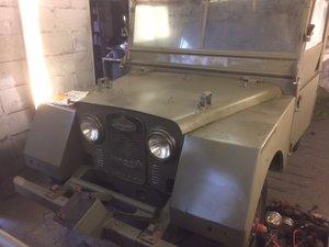 1952  Minerva Jeep For Restoration
