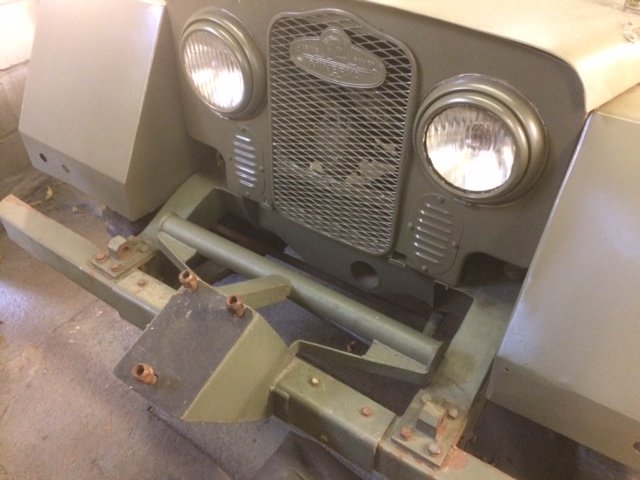 1952 Minerva Jeep For Restoration For Sale (picture 2 of 6)