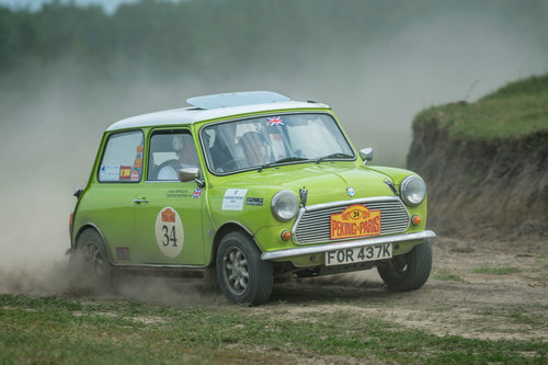 Classic Mini 1275 historic Rally car 1972 For Sale (picture 1 of 6)