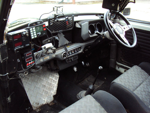 Classic Mini 1275 historic Rally car 1972 For Sale (picture 6 of 6)
