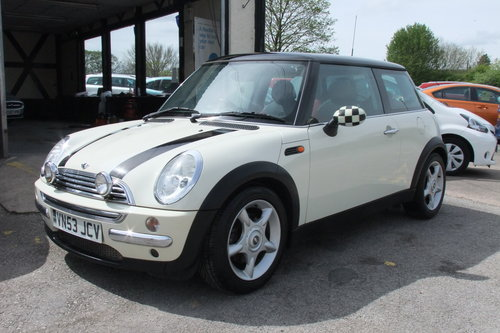 2003 MINI HATCH 1.6 COOPER 3DR SOLD (picture 1 of 6)