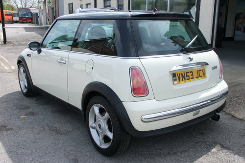 2003 MINI HATCH 1.6 COOPER 3DR SOLD (picture 3 of 6)