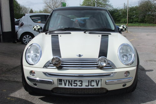 2003 MINI HATCH 1.6 COOPER 3DR SOLD (picture 4 of 6)