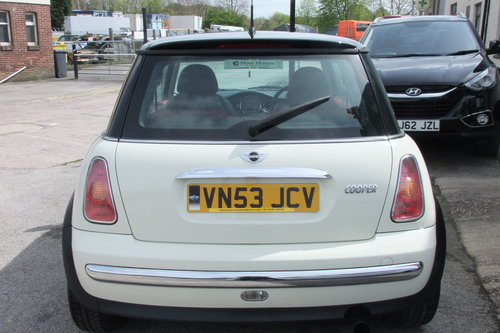 2003 MINI HATCH 1.6 COOPER 3DR SOLD (picture 5 of 6)