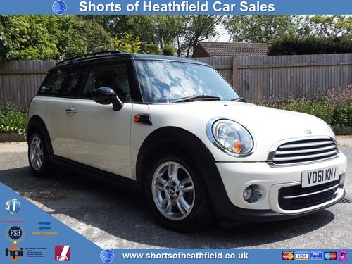 2011 Mini Clubman 1.6 Cooper Diesel + Pepper Pack - 3 Dr Estate  SOLD (picture 1 of 1)