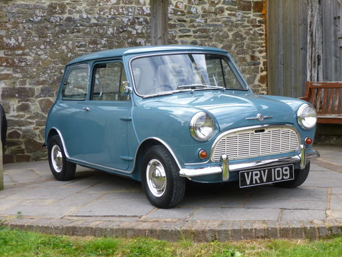 1960 Morris Mini Deluxe On 29170 Miles Past Owner 51 Years Sold