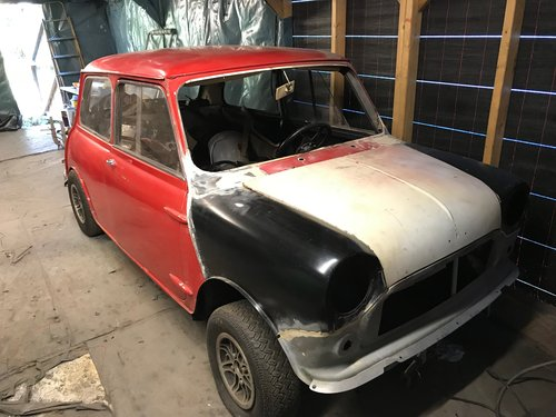 1965 Mk 1 Austin Mini Cooper S 1275 NOW SOLD SOLD (picture 1 of 6)