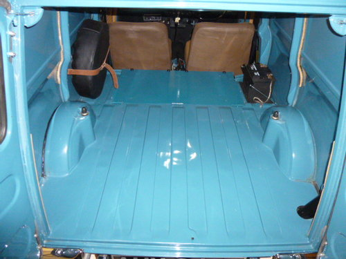 1969 Very Special Mini Van With Factory Fitted Fold Up Rear