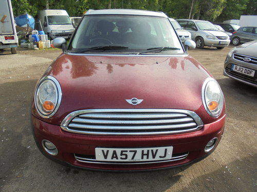 2007 MINI 1600cc PETROL COUNTERYMAN PETROL ORANGE AND SLIVER  For Sale (picture 2 of 6)