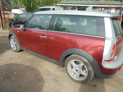 2007 MINI 1600cc PETROL COUNTERYMAN PETROL ORANGE AND SLIVER  For Sale (picture 3 of 6)