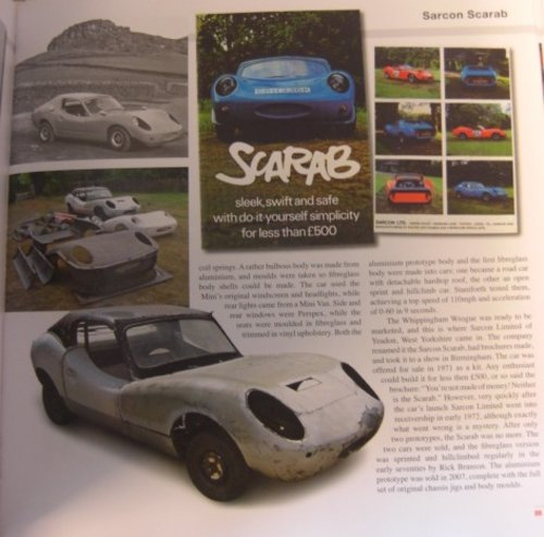 1969 Sarcon Scarab, Mini Based rare sportscar For Sale (picture 6 of 6)
