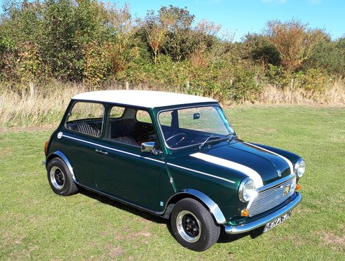 1975 Morris mini mk3 1000 28,000 miles from new SOLD (picture 1 of 6)