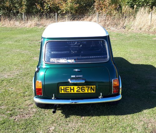 1975 Morris mini mk3 1000 28,000 miles from new SOLD (picture 4 of 6)