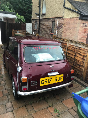 1989 Classic Mini Thirty Sold Car And Classic