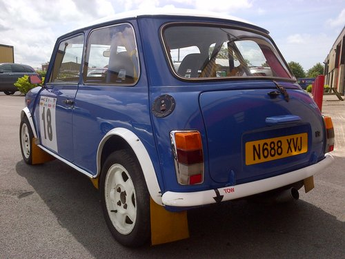 1996 MINI COOPER GRP A RALLY CAR 1.3I 2DR HATCH For Sale (picture 2 of 6)